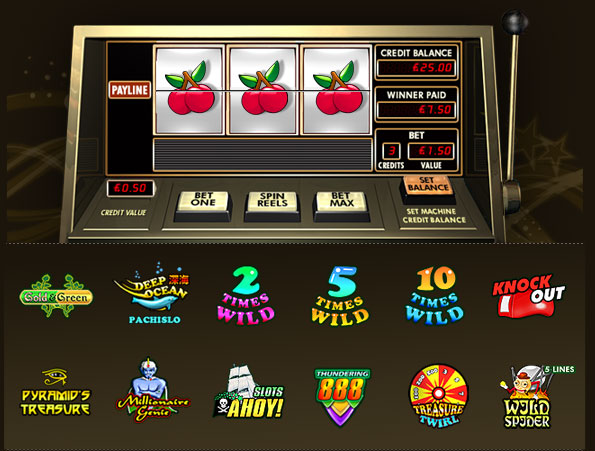 best slot machines to play online  automat